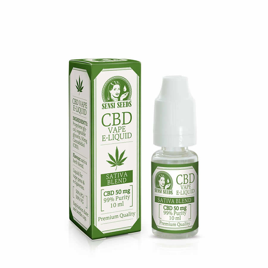 E-Liquid Sensi Seeds 50 mg